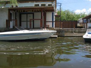 boat at the wharf