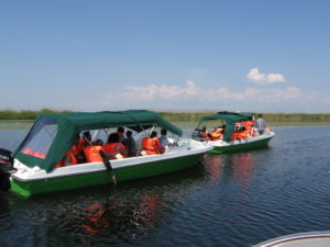 Boating in the Danube Delta