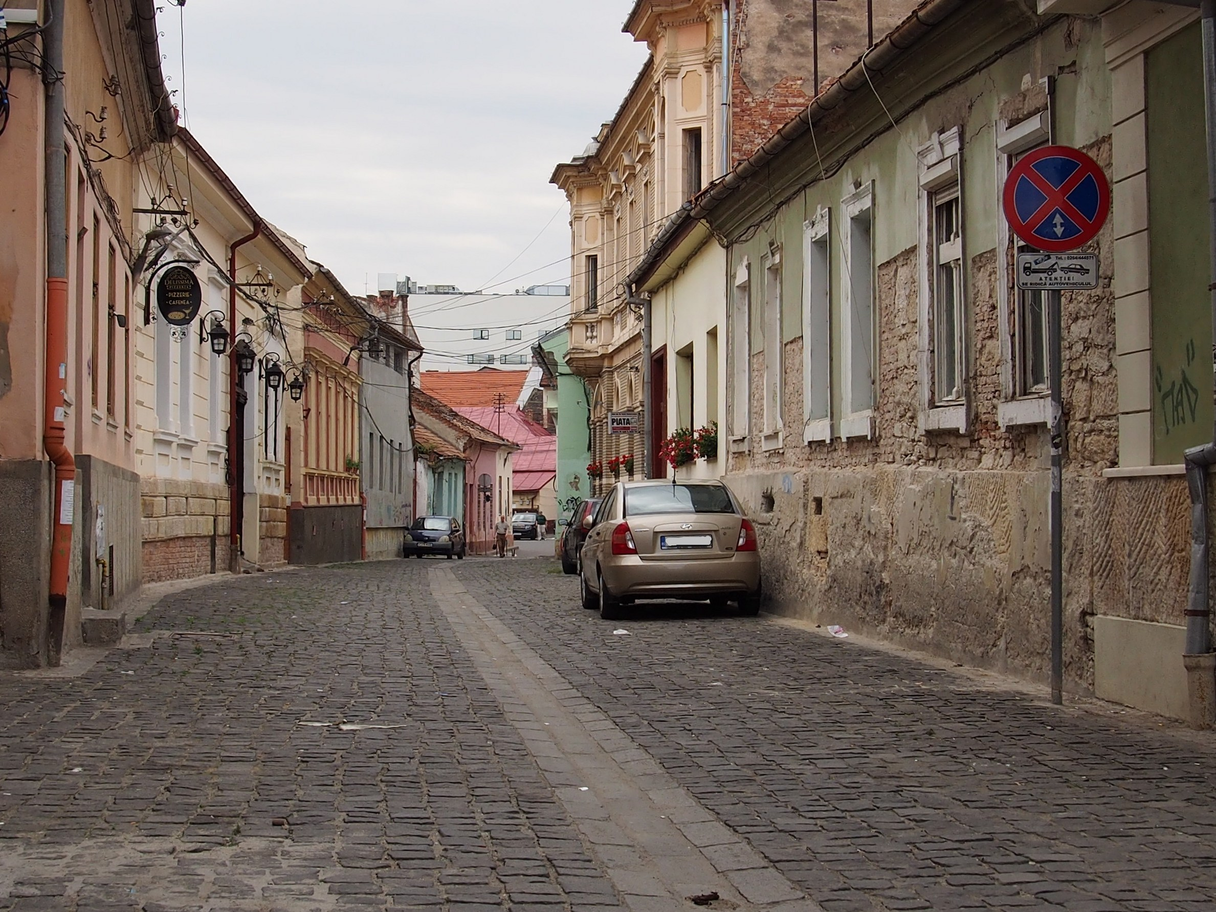 Street from Cluj