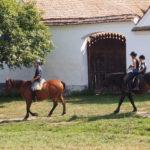 Riding in Viscri