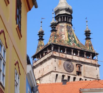 Clock Tower from Sighisoara